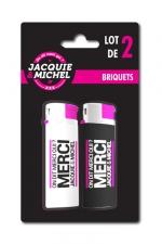 Pack 2 Briquets Jacquie & Michel