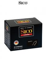 50 préservatifs Sico SAFETY : 50 préservatifs haute qualité offrant à la fois une protection maximum et des sensations intenses.